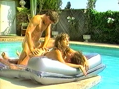 The heat of the intense sun turned this hot couple into a wild sexual encounter despite the cool refreshing pool. Hot hunk maniacall