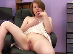 She sits waiting for any man or woman, her breasts are firming up ready to be mash
