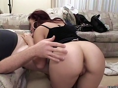 This asian bitch is aching for some good fucking. And