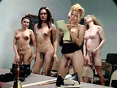 Come join these transsexual students as they learn from their naughty professors the ins and out of becoming a filthy bitch. Watc